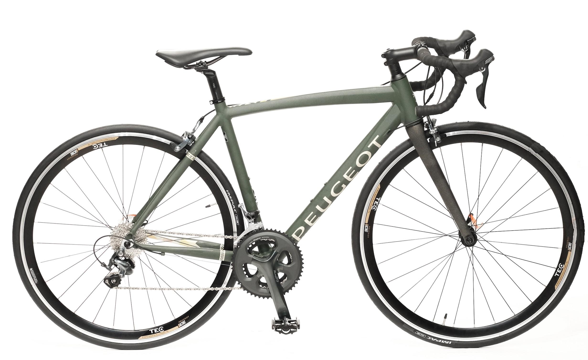 PEUGEOT R14 20V  ALLOY BLACK/GREEN