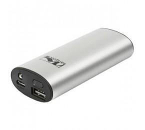 USB M-WAVE  POWERBANK 5V/1A SILVER