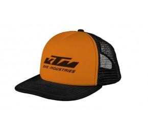 ΚΑΠΕΛΟ ΚΤΜ FLAT CAP BLACK/ORANGE