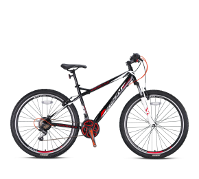 KRON VORTEX 4 0 26 BLACK-RED/WHITE V-Brakes